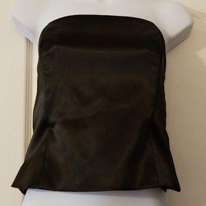 Satin Crop Dress Top by White House Black Market